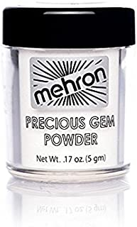 Mehron Precious Gem Glitter Powder 0.17 Oz | Silky, Bright Colors, Shimmering & Sparkling Loose Eyeshadow | For Face, Body...