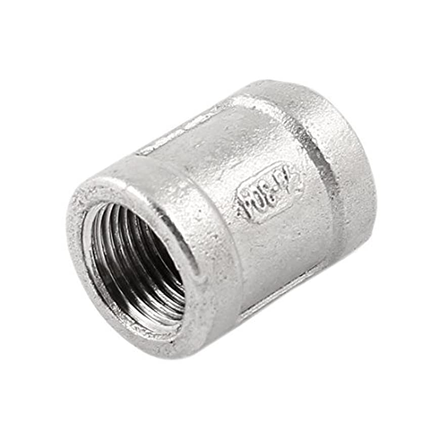 3/8 PT Female Thread Straight Water Pipe Rod Coupling Connector