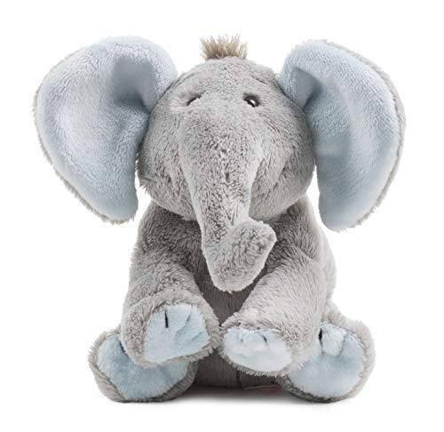 Schaffer Knuddel mich! 5180 BabySugar Blue Plüsch-Elefant, Blau, Größe XS 13 cm