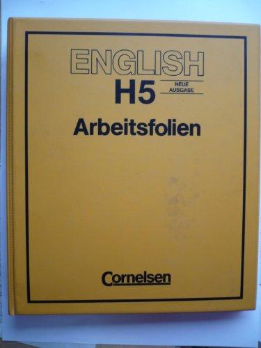 English H 5. Neue Ausgabe. Arbeitsfolien für den Tageslichtprojektor