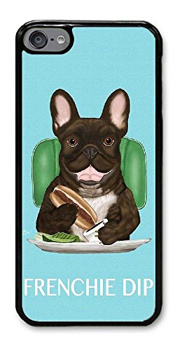 Personalize iPod Touch 6 Cases - French Bulldog Hard Plastic Phone Cell Case for iPod Touch 6