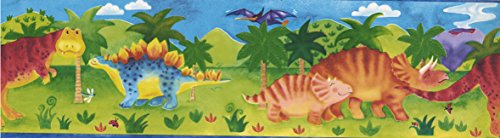 Kids Green 92041 GU Dino Tapetenbordüre