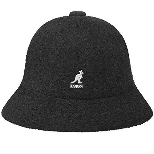 Kangol Bermuda Casual Bucket Hat Bob, Noir, M Mixte