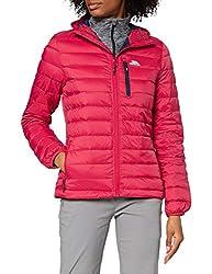 Trespass Arabel, Raspberry, XL, Ultraleichte Warme Kompakt Zusammenfaltbare Daunenjacke 80% Daunen für Damen, X-Large, Rosa / Pink