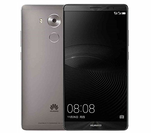 Huawei Mate 8 NXT-L09, Smartphone de 6'' (1 Sim),(Bluetooth 4.2, 3 GB de RAM, 32 GB, cámara de 16 MP, Android 6.0), Color Gris