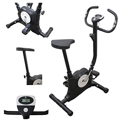 Ffitness FLC201BN Offerta cyclette easy belt workout in casa cardio gym fitness trainer...