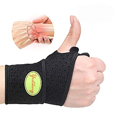 2020 New Version Profession Wrist Brace for Carpal Tunnel, Strap/Brace/Support/Wraps for Right and Left Hands Day & Night