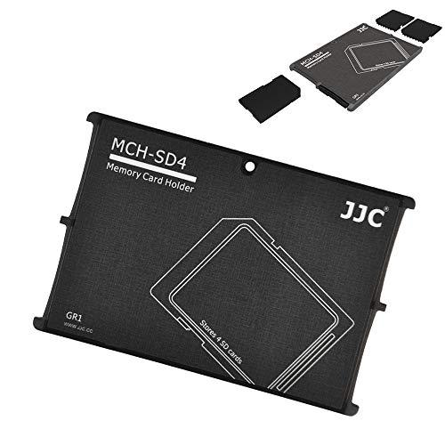 JJC Speicherkarten Etui Leichte Aufbewahrung Schutzhüllen für 4 SDXC SDHC SD-karten