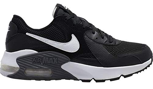Nike Damen Air Max Exceed Sneaker, Black/White-Dark Grey
