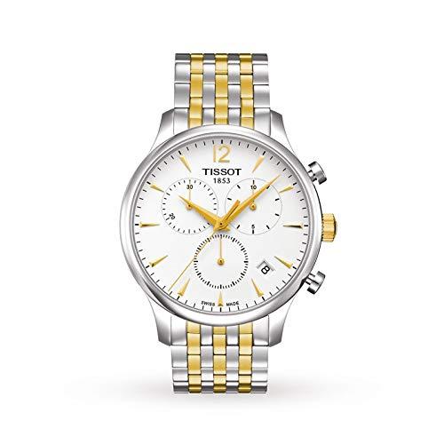 Tissot Orologio Cronografo Quarzo Uomo con Cinturino in Acciaio Inox T063.617.22.037.00
