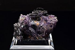 フローライト 硫ひ鉄鉱 鉄マンガン重石 雲母 共生鉱石 1点もの 原石_V968