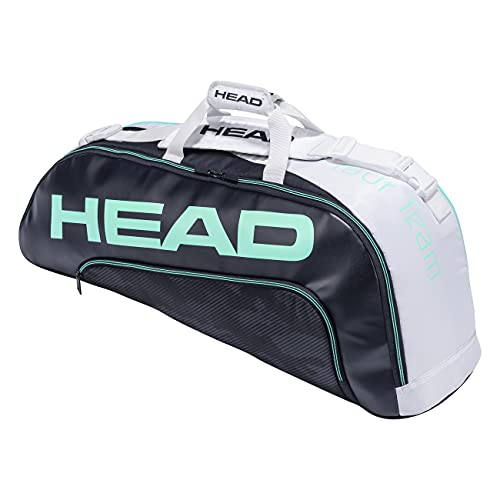 Head Tour Team 6R Combi Bolsa de Tenis, Azul Marino/Blanco, 6 Racquets