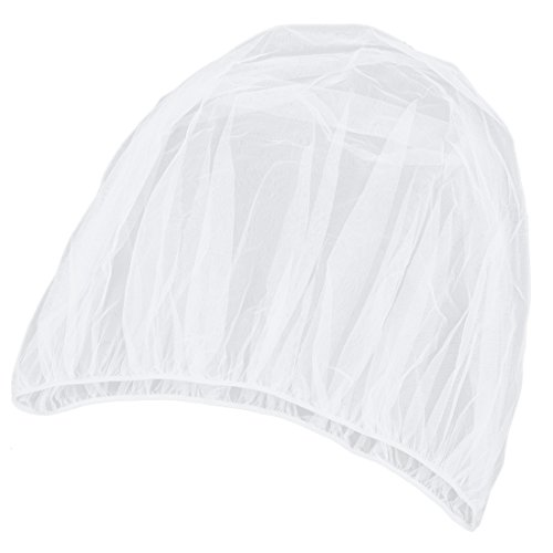 Huante - Mosquitera para cochecito de bebé, protector de mosquito insecto, color blanco
