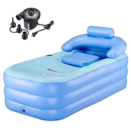 PENSON & CO. Inflatable Bath Tub PVC Portable Bathtub