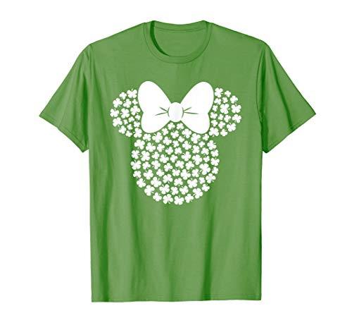 Patricks Day T-Shirt O-Neck Short Sleeve Tunics Jumper Top FAPIZI Women Luck Grass Print Tee Blouse ST