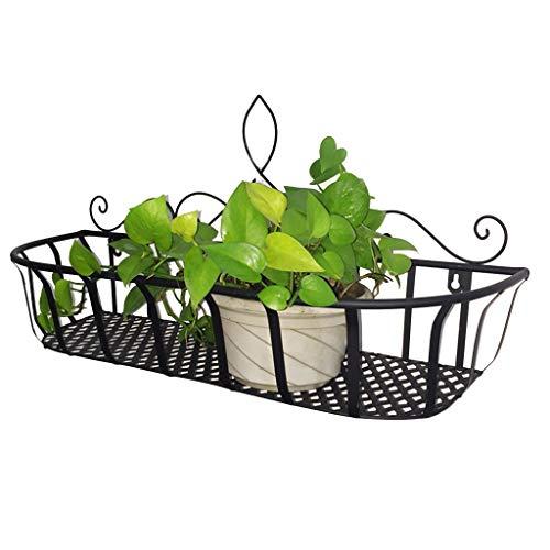 Stands Plant Containers & Accessoires IJzeren Muur Opknoping Bloem Balkon Spalk Bloem Woonkamer Wandopknoping Orchidee Wandplank Slaapkamer Groene Plant Decoratie Frame