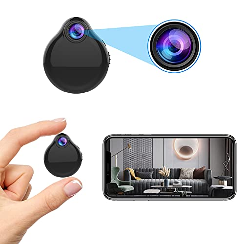 Spy Camera Mini Hidden WiFi Camera HD 1080P with Audio Night Vision...