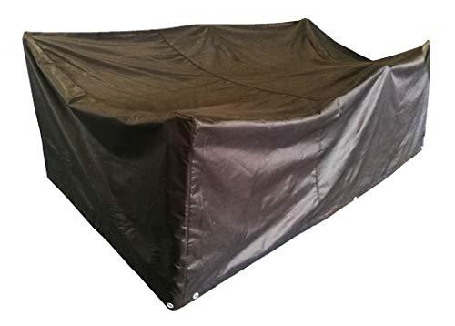 ANSIO Patio Set Abdeckung Gartenmöbel Abdeckung, Polyester Oxford Material, wasserdicht, staubdicht, 2,1 m Länge x 1,1 m Breite x 0,7 m Höhe