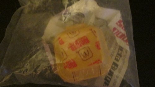 McDonalds Happy Meal New Food Changeables Set 1B Gallacta Burger {Fast Food Toy} 1987