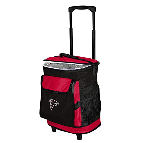 Logo Brands Baltimore Ravens 48-Can Rolling Cooler with Wheels and Backpack Straps