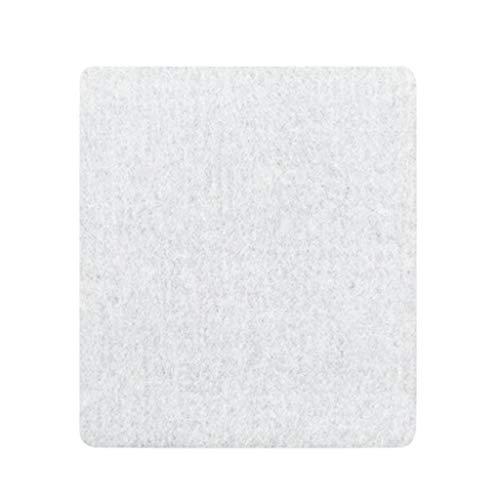 jiumoji Wool Pressing Mat Ironing Pad Portable Travel High Temperature Ironing Board Silken Banner 12.99×13.77''