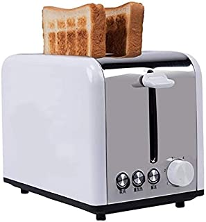 Mopoq Automatic home toaster, for kitchen, breakfast, stainless steel bread machine, can be intelligently heated evenly wi...