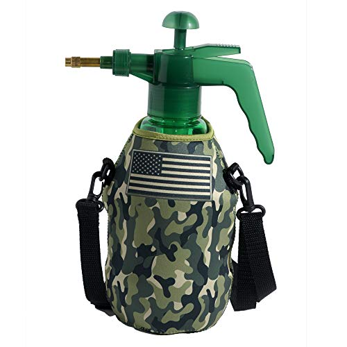 Pink Camo PB Misters Mister Chill Personal Pump Mister with Pressure Relief Handle and Neoprene Sleeve