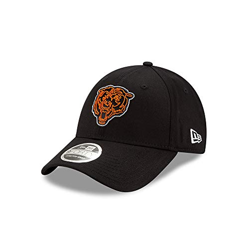 New Era Chicago Bears 9forty Stretch Snapback Cap NFL 2020 Draft Black - One-Size