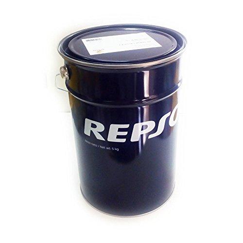Repsol Grasa amarilla multiusos 5 kg Netti Calcica 2 para vehículos pesados vehículos agrícolas Gru Puentes de lavado
