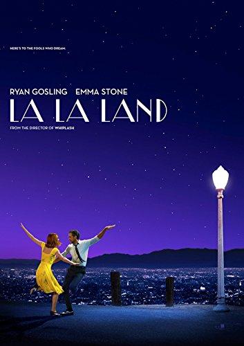 Póster de la película La La Land, sin bordes, A3 Size 16.5 x 11.7 Inch / 420 x 297 mm