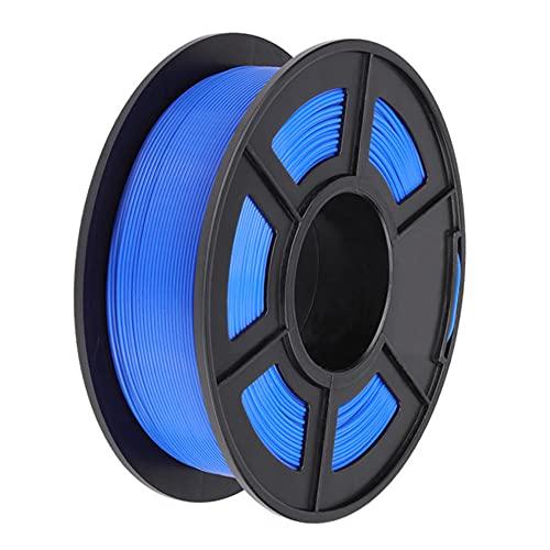 PLA 3D Printer Filament, Dimensional Accuracy +/- 0.02 mm, 1 kg Spool, 1.75 mm, for 3D Printers and 3D Pens-Blue