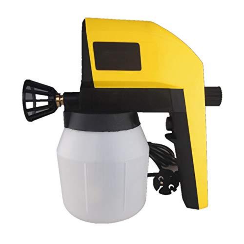 Amarillo Mano Pistolas De Pintura Paint Spray Sistema Bricolaje Eléctrico Aerógrafo De...