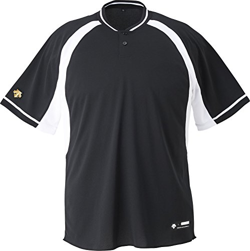 DESCENTE(デサント) 野球 2ボタンベースボールシャツ ホワイト Sサイズ DB103B