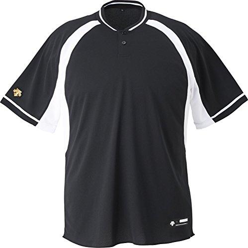 DESCENTE(デサント) 野球 2ボタンベースボールシャツ ホワイト Oサイズ DB103B
