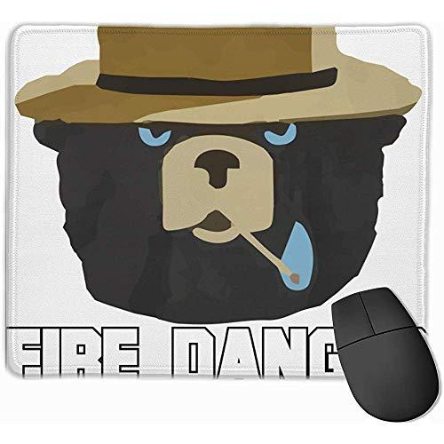 Smokey Bear 'Brandgefahr Heute sehr hoch' Amt für Grün- und Umweltschutz