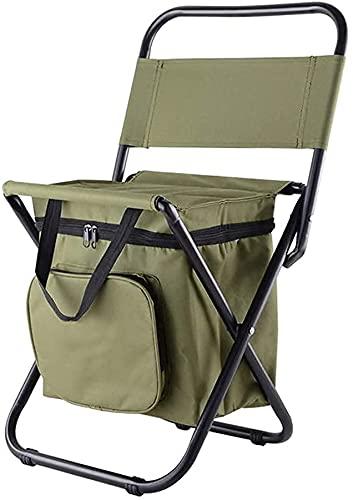 Sillas de Camping Portátiles, Silla de camping portátil, silla de camping portátil, con bolsas de transporte, sillas de camping, asiento al aire libre duradero liviano, for al aire libre, pesca, festi