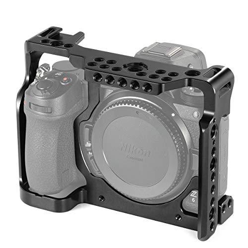 SMALLRIG Z7 Cage Compatibile con Nikon Z6 / Z7, Gabbia con Binario NATO Incorporato e Anti-Twist Design - 2243