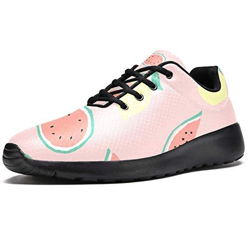 LORVIES - Zapatillas de deporte para hombre, (multicolor),