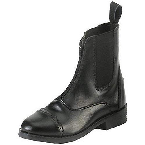 Equistar - Child's Zip Paddock Boot (All Weather) 2 Black