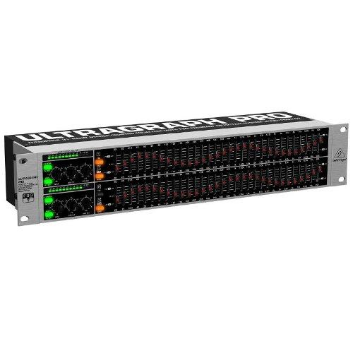Behringer Ultragraph Pro FBQ3102 Professionele DJ Audio equalizer, analoge effectprocessor (2 kanalen, 31 banden, FBQ, XLR)