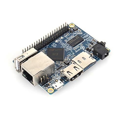 PUSOKEI EIN Board, Single Board Computer, Kompatibel mit für Android/Ubuntu Debian Raspberry für H3 Quad-Core A7