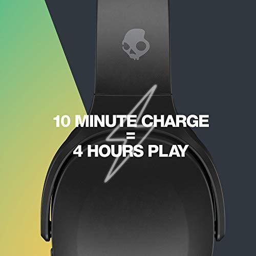 Skullcandy Crusher Evo headphones charging time