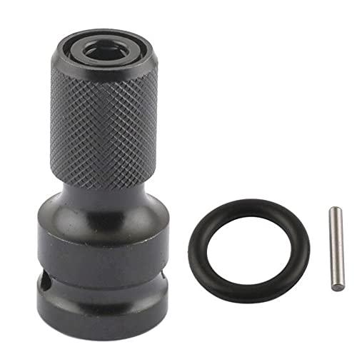 Acero 1/2 cuadrado a 1/4 hexagonal llave de trinquete Socket adaptador llave llave de vaso Set Drive Converter Impact Tool