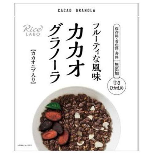 幸福米穀 カカオグラノーラ 200g×15袋入×(2ケース)
