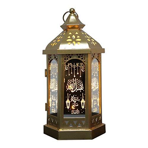 SHIJIE1701AA Lámpara de Mesa Se Puede Colgar con Estilo del Hierro del Viento lámpara de la decoración del hogar de la lámpara Sala de Mesa de Regalos de la lámpara Noche Lámpara de Mesa