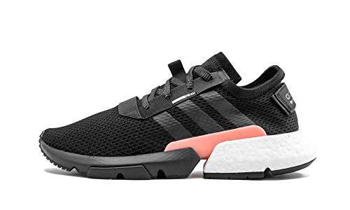 adidas POD S3.1 Mens in Black/Clear Orange, 13