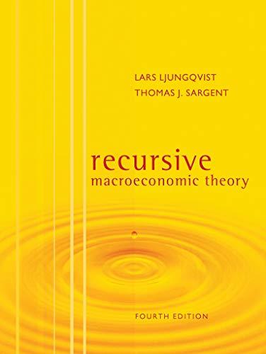 Recursive Macroeconomic Theory, fourth edition (The MIT Press)の詳細を見る