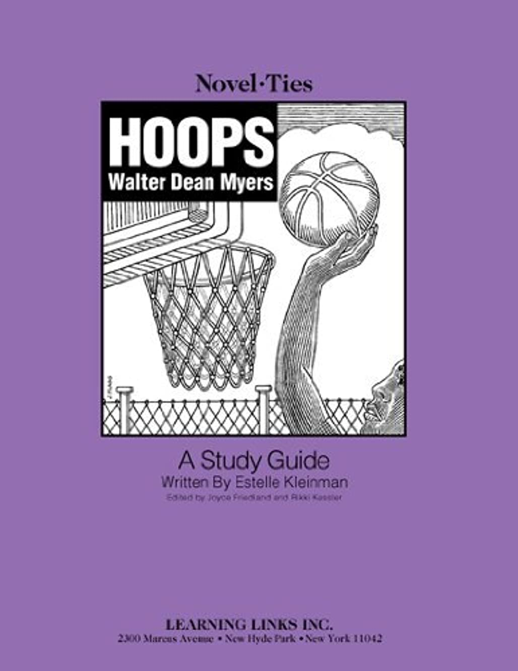 Hoops: Novel-Ties Study Guide by Walter Dean Myers (2006-01-01) Paperback
