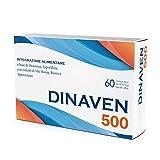DINAVEN 500-60 cpr - Diosmina (450 mg), Esperidina (50mg), Rusco, Vite Rossa e Ippocastano - Circolazione - Emorroidi