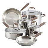 Anolon 31521 Advanced Triply Stainless Steel Cookware Pots and Pans Set